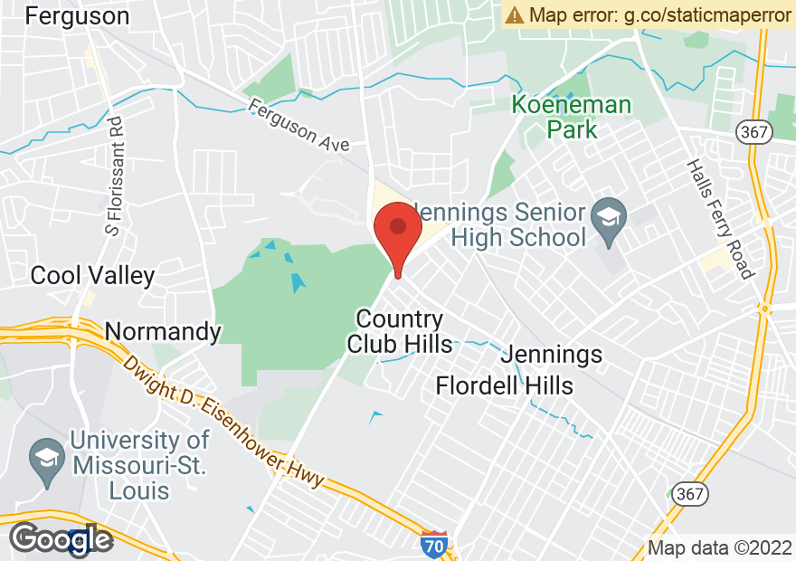 Google Map of 5790 LUCAS AND HUNT RD