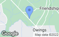 Map of Friendship, MD