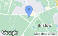 Map of Bristow, VA