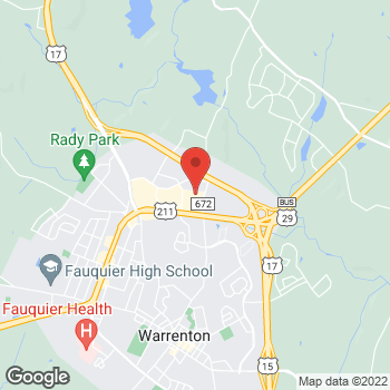 Map of Hair Cuttery at 41 W Lee Hwy Ste 51, Warrenton, VA 20186