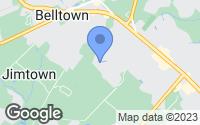 Map of Lewes, DE