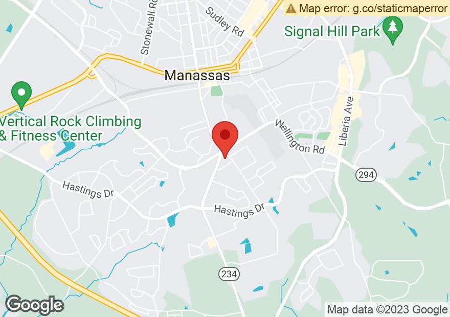 Google Map of 10213 DUMFRIES RD