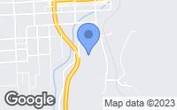 Map of Cripple Creek, CO