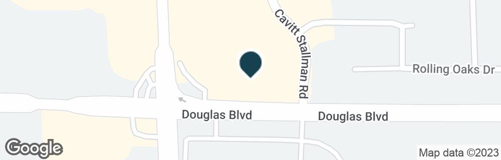 Google Map of4051 DOUGLAS BLVD