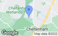 Map of Cheltenham, MD