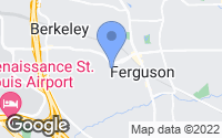 Map of Ferguson, MO