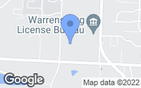 Map of Warrensburg, MO