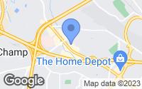 Map of Bridgeton, MO