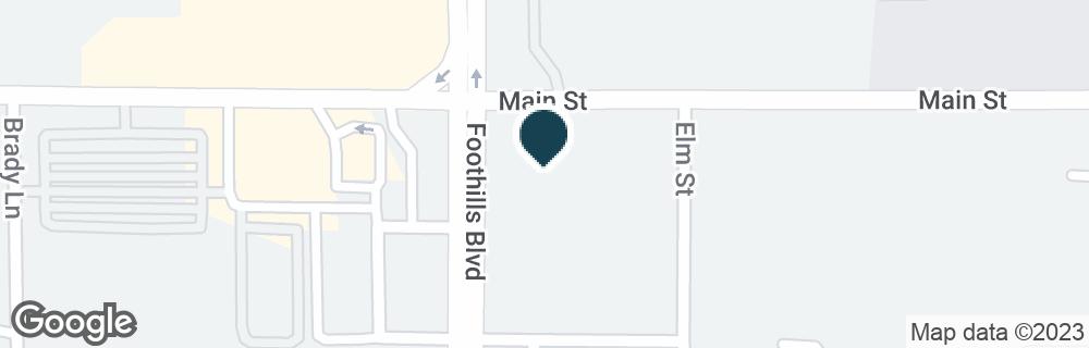Google Map of3999 FOOTHILLS BLVD