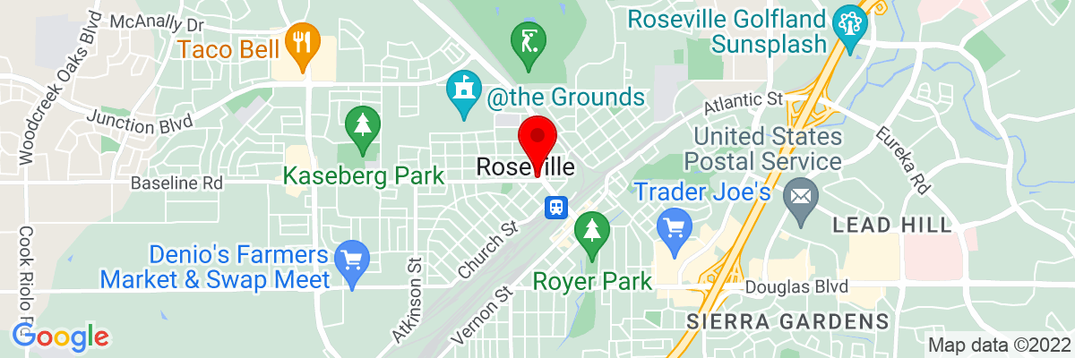 Google Map of 38.752123611111,-121.28800583333