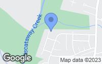 Map of Cheltenham, MD