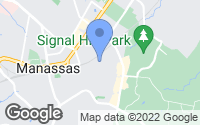 Map of Manassas, VA