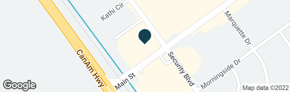 Google Map of280 MAIN ST