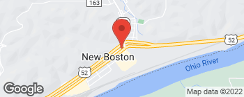 Mapa de 4055 Rhodes Ave en New Boston
