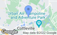 Map of Cottleville, MO