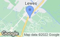 Map of Lewes, DE