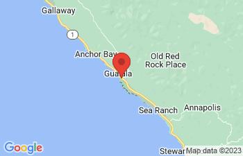 Map of Gualala
