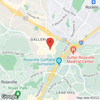 Map of buybuy BABY at 1120 Galleria Boulevard, Roseville, CA 95678