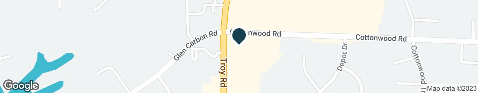 Google Map of2 COTTONWOOD RD