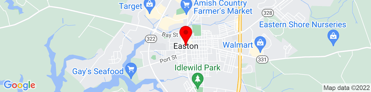 Google Map of 38.7742826, -76.0763305