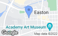 Map of Easton, MD