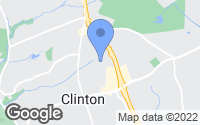 Map of Clinton, MD
