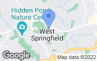 Map of West Springfield, VA
