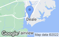 Map of Deale, MD