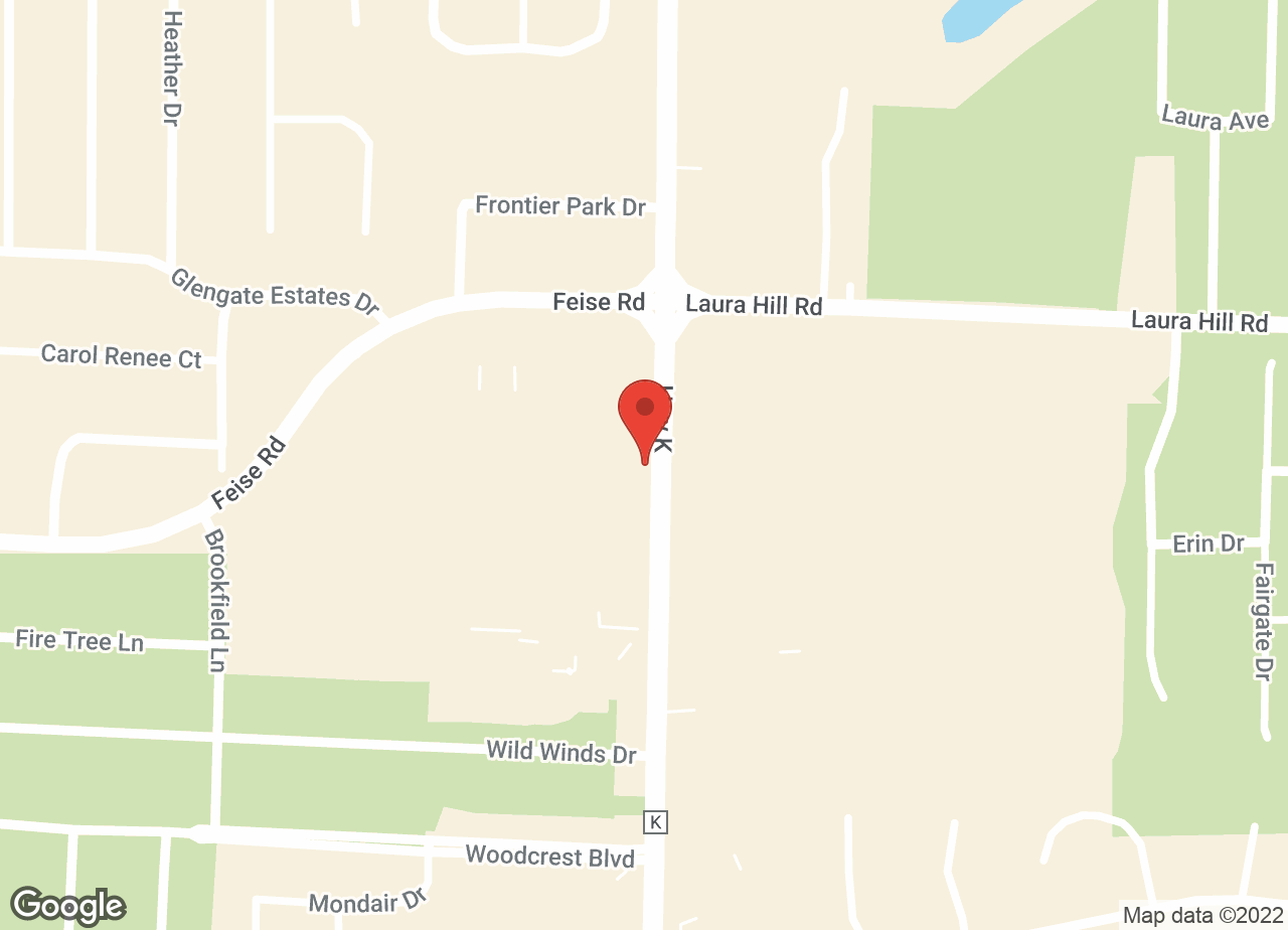 Google Map of VCA All Creatures Animal Hospital