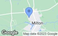 Map of Milton, DE