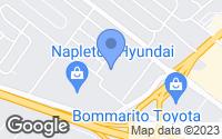 Map of Hazelwood, MO