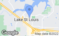 Map of Lake Saint Louis, MO