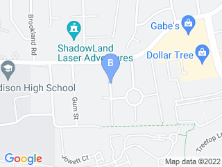 Map of Doggy Workout Dog Boarding options in Alexandria | Boarding