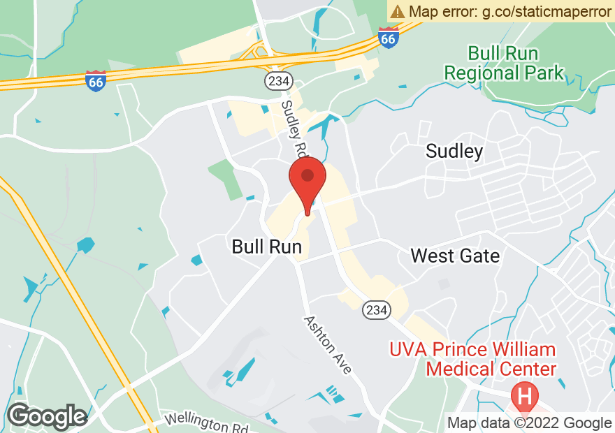 Google Map of 10671 SUDLEY MANOR DR