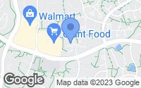 Map of Burke, VA