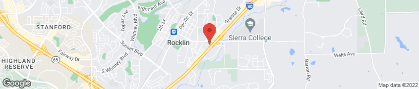 Map of 4460 Rocklin Rd in Rocklin