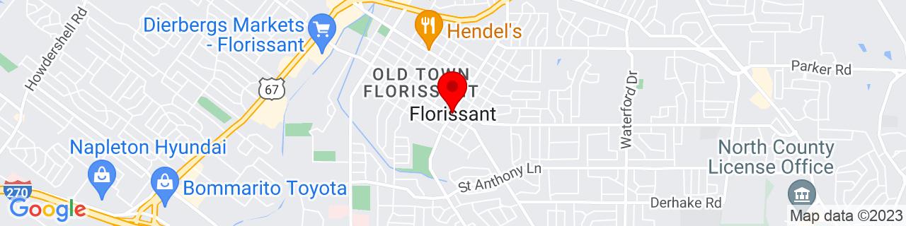Google Map of 38.789217, -90.322614