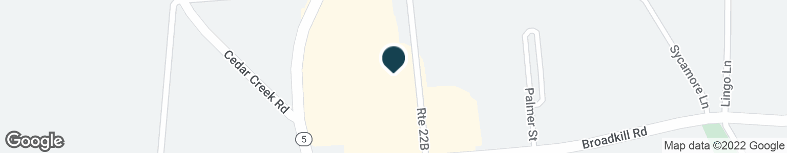 Google Map of120 BROADKILL RD