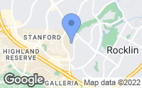 Map of Rocklin, CA