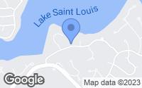 Map of Lake Saint Louis, MO