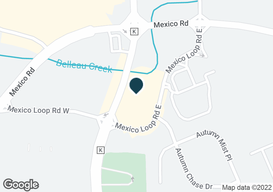 Google Map of1490 MEXICO LOOP RD E