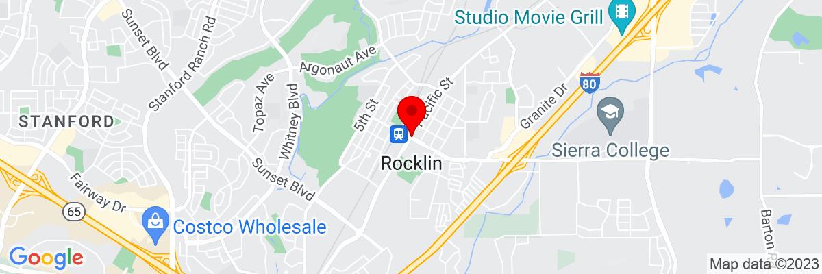 Google Map of 38.790733888889,-121.23578277778
