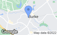 Map of Burke, VA