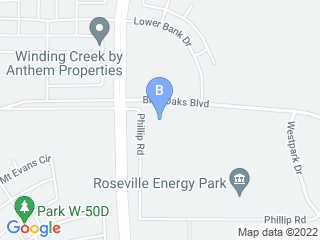 Map of O'Brien's Kennel Dog Boarding options in Roseville | Boarding