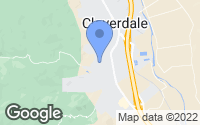 Map of Cloverdale, CA