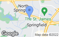 Map of Springfield, VA