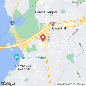 Map of Cole Haan Outlet at 6800 Oxon Hill Road, National Harbor, MD 20745
