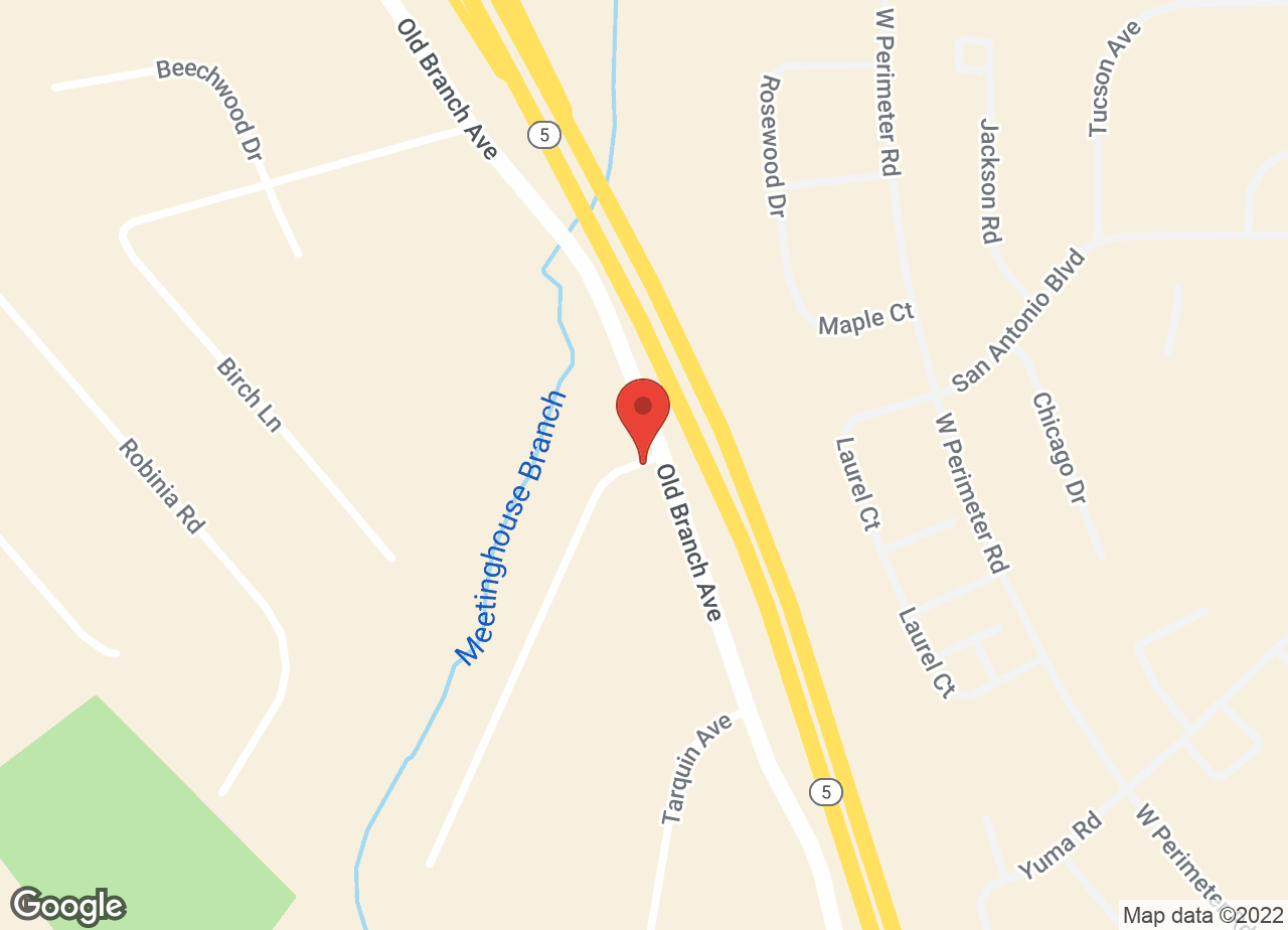 Google Map of VCA Coolridge Animal Hospital