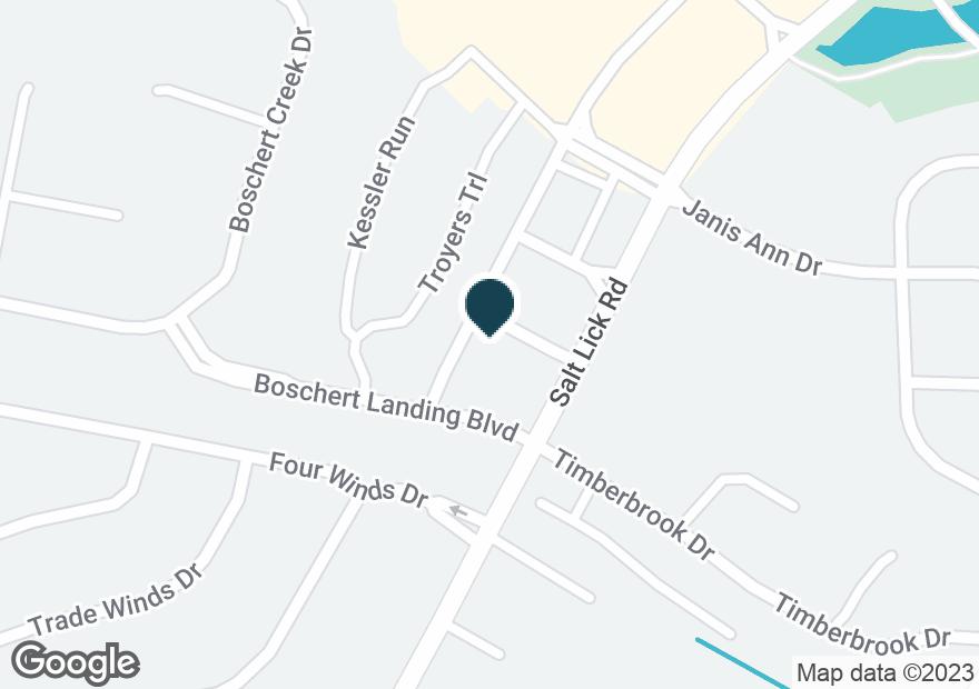 Google Map of499 SALT LICK RD