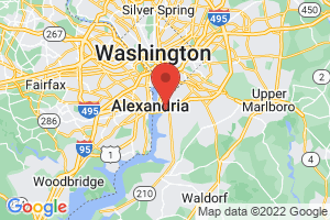 Map of Washington DC Area